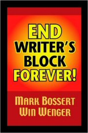 Bookcover, End Writer's Block Forever