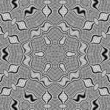 Moiré pattern created by Jacob Yerex